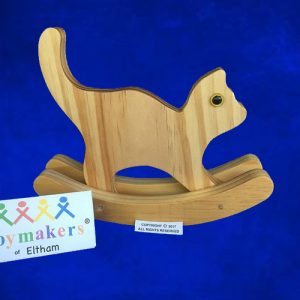 Timber Toy Cat on rockers