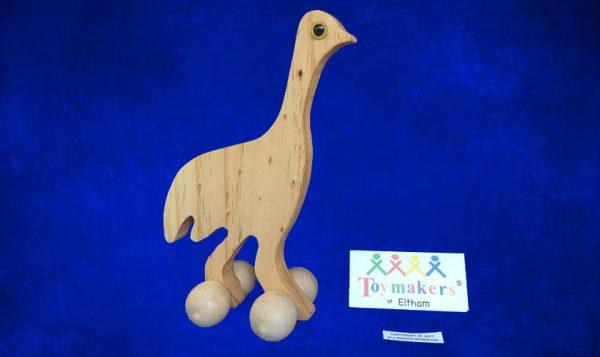 Timber Toy Emu