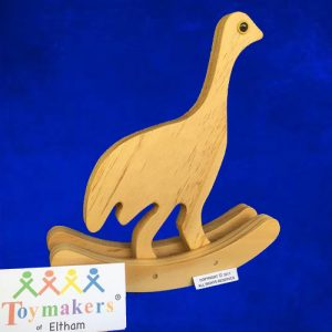 Timber Toy Emu on rockers