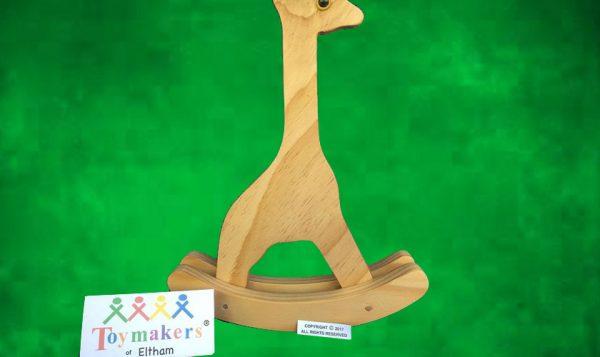 Timber Toy Giraffe on rockers