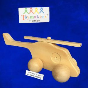 Timber Toy Helicopter