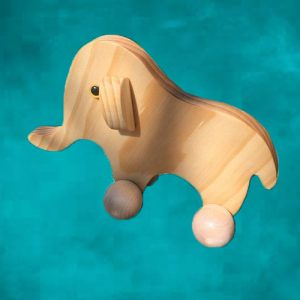 Timber Toy Elephant